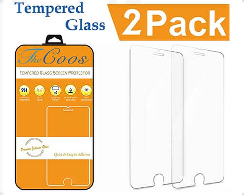 TheCoos iPhone 8 Tempered Glass Screen Protector