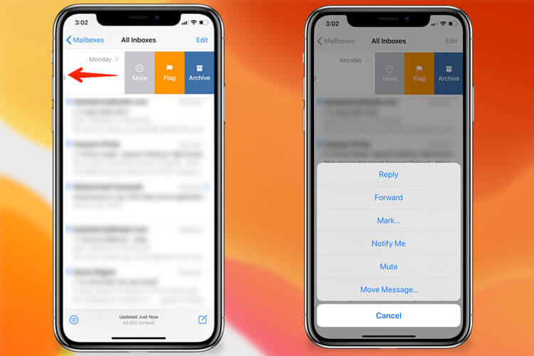 Thread Muting in Mail in iOS 13