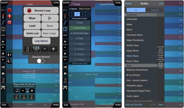 ThumbJam iPhone and iPad App Screenshot