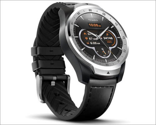 Ticwatch Pro Premium Smartwatch Compatible with iPhone