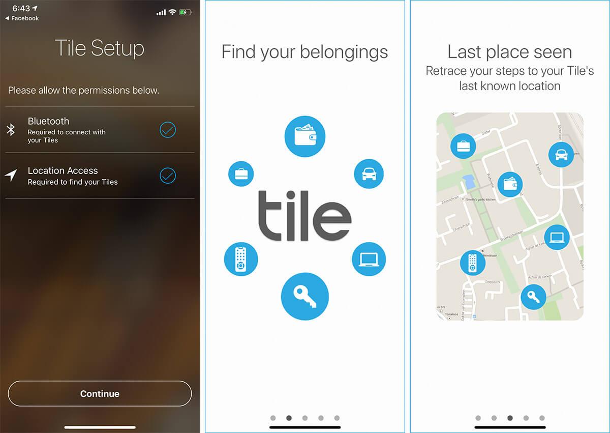 Tile Bluetooth Tracker