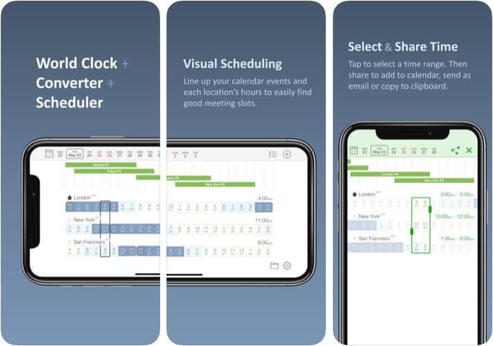 Time Buddy Time Converter iOS App Screenshot