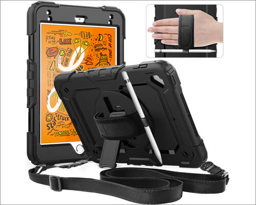 Timecity iPad Mini 5 Kickstand Case