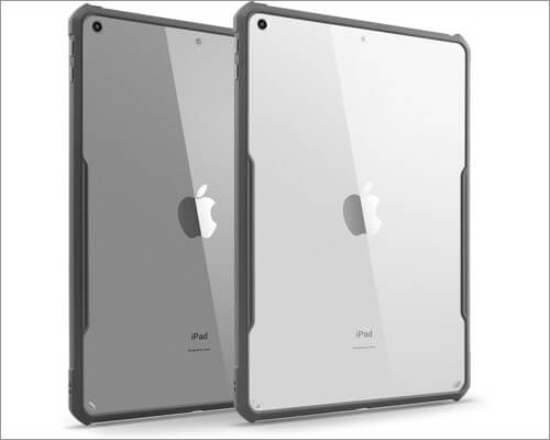 TineeOwl iPad 10.2-inch Ultra Slim Clear Case