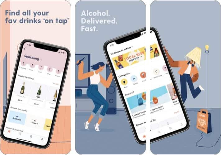 Tipple best wine app for iPhone screenshot