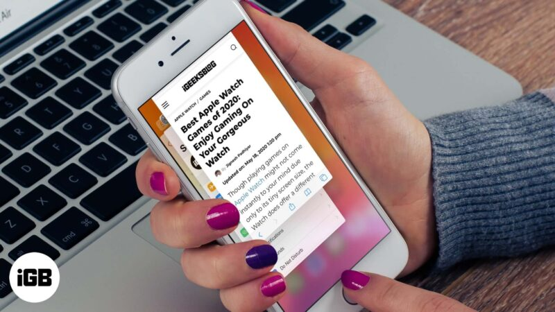 Tips to Fix Safari Running Slow on iPhone and iPad