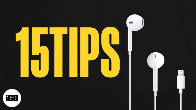Tips to Use iPhone Headphones