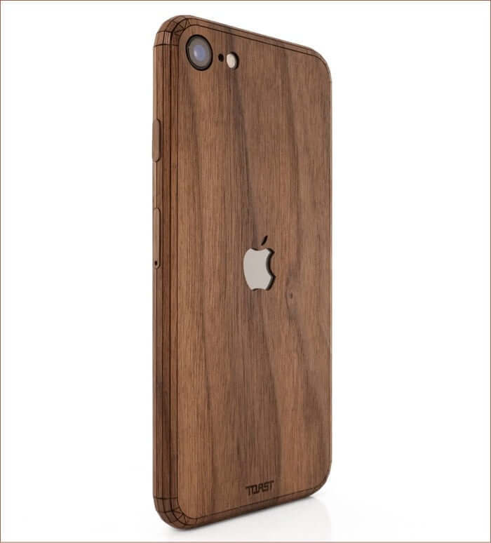 ToastMade iPhone SE 2020 Wooden Case