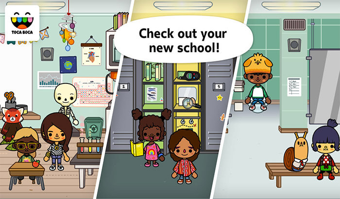Toca Life iPhone and iPad App Screenshot
