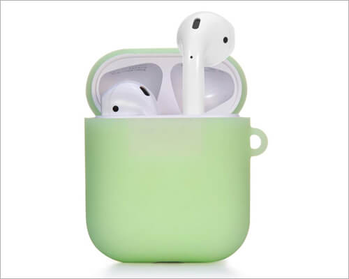 TomRich Silicone AirPods 2 Glow Case