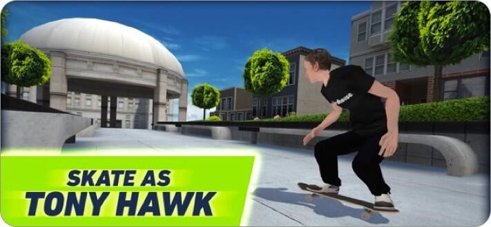 Tony Hawk Skate Jam iPhone Skateboard Game Screenshot