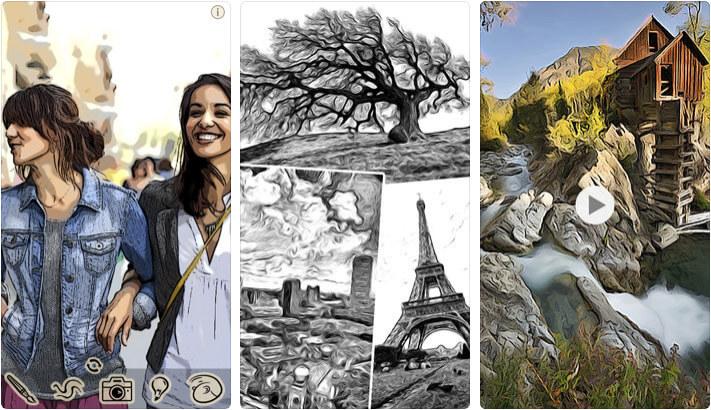 ToonCamera iPhone Cartoon Yourself App Screenshot