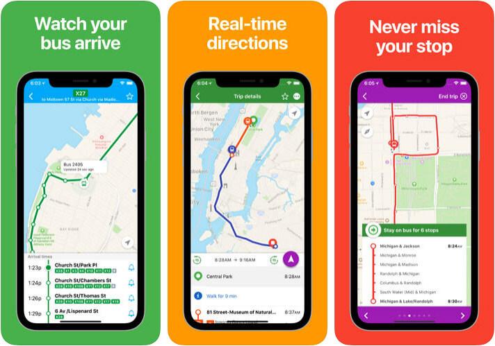 Total Transit iPhone App Screenshot