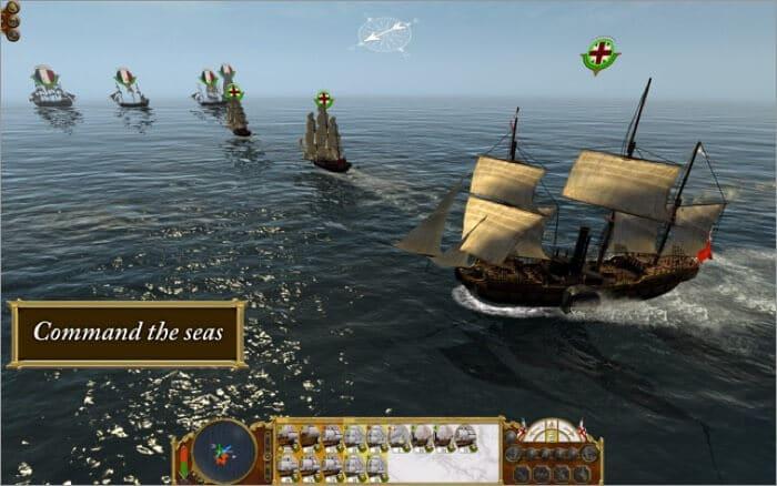 Total War - EMPIRE Mac strategy game Screenshot