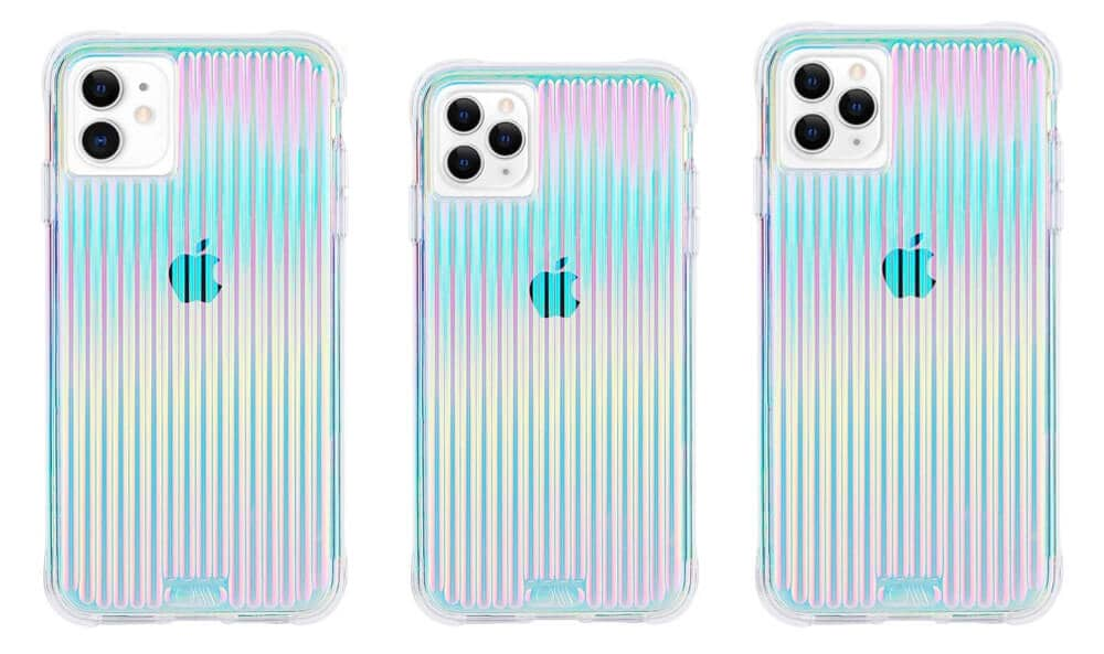Tough Groove Irridescent Case from Case-Mat for iPhone 11 Pro Max, 11 Pro, and iPhone 11