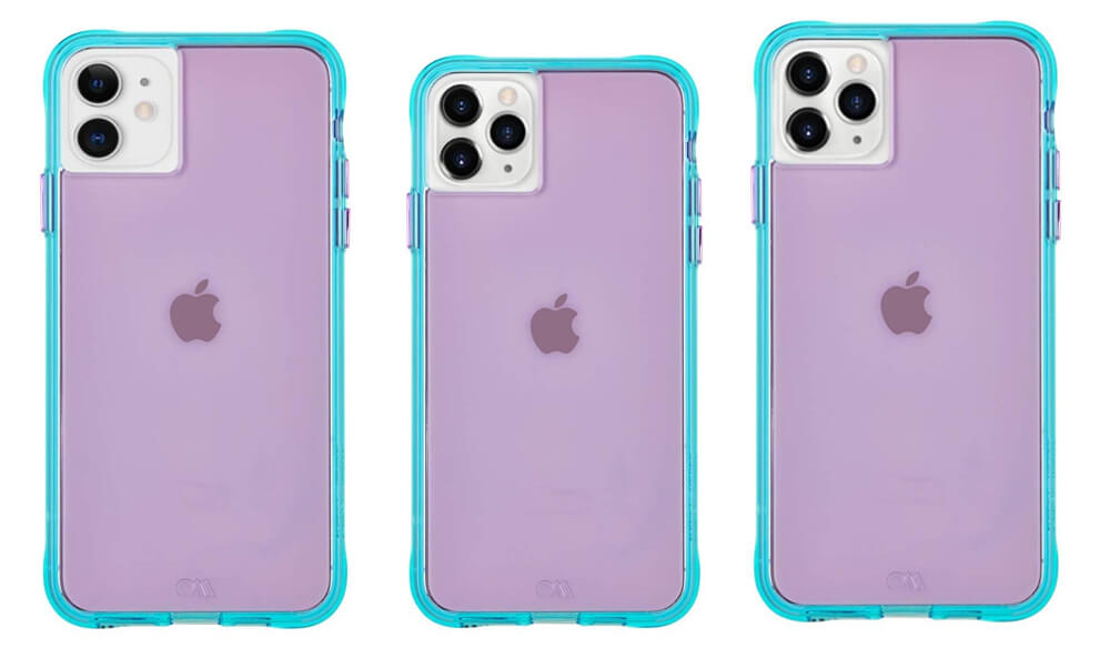 Tough NEON Case from Case-Mate for iPhone 11, 11 Pro, and 11 Pro Max