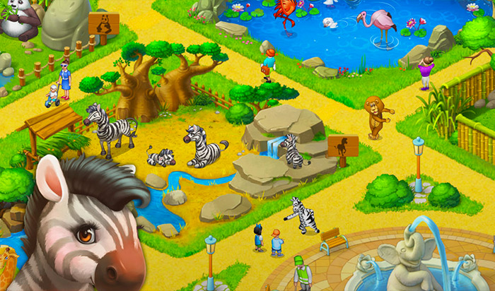 Township Farm & City Building Mac Game Screenshot