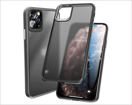 Tozo iPhone 11 Pro Transparent Bumper Case