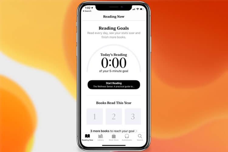 Track Your Reading Habit in Books App in iOS 13