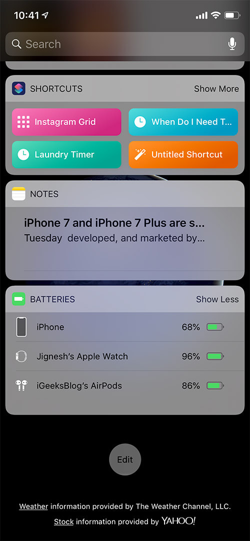 Track the Battery of Your AirPods