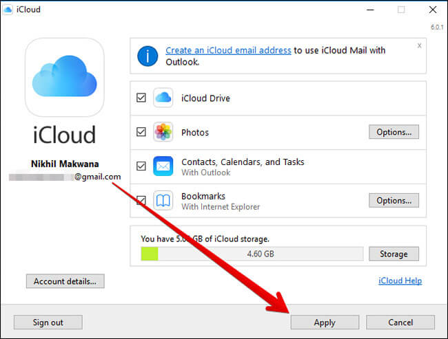 Transfer Photos from iPhone or iPad to Windows 10 Using iCloud