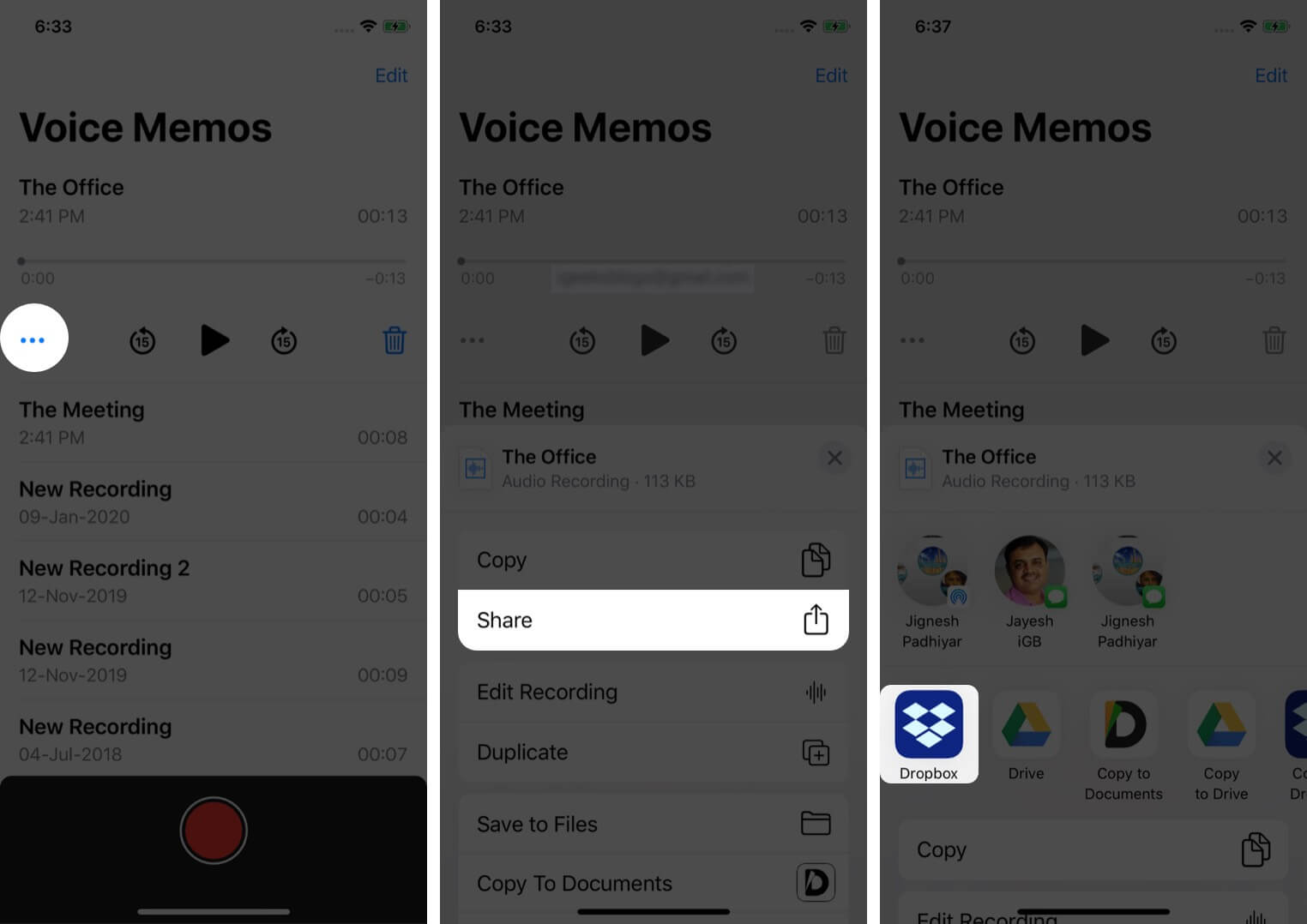 Transfer Voice Memos from iPhone Using Third-Party Apps