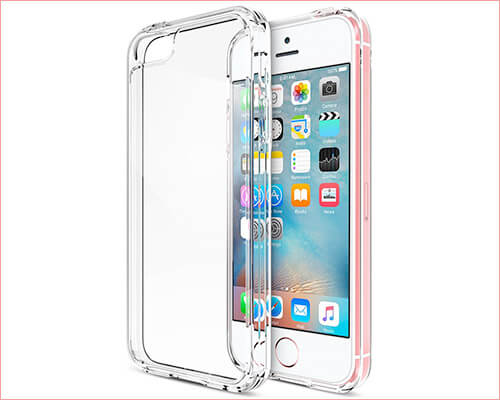 Trianium Clear Case for iPhone SE and iPhone 5s