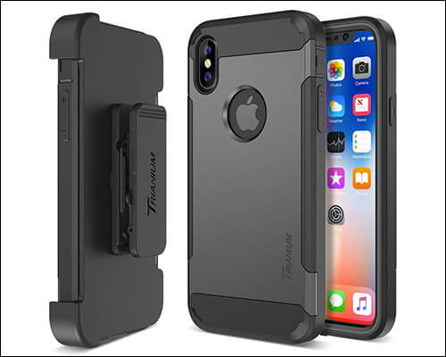 Trianium Heavy Duty Case for iPhone Xs