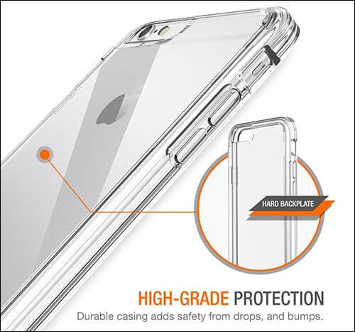 Trianium iPhone 6s Plus Transparent Case