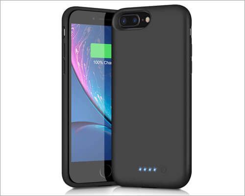 Trswyop Battery Case for iPhone 6 Plus