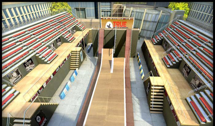 True Skate Sports iPhone and iPad Game Screenshot