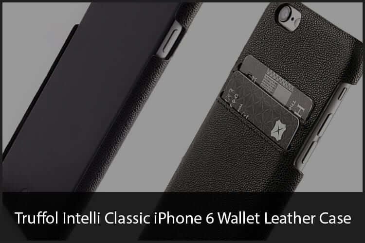 Truffol Intelli Classic iPhone 6 Wallet Leather Case