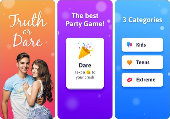Truth or Dare iPhone and iPad App Screenshot