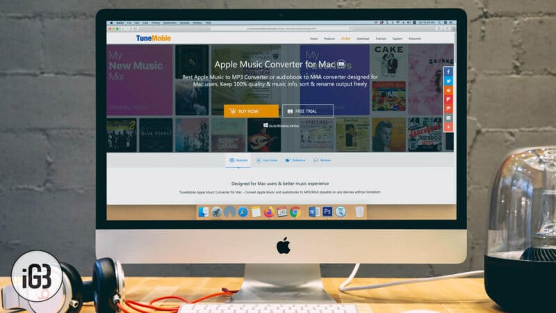 TuneMobie Apple Music Converter for Mac and Windows