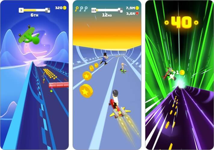 Turbo Stars iPhone Skateboard Game Screenshot