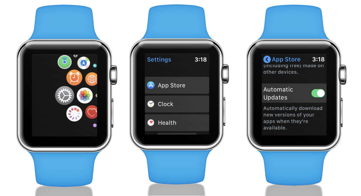 Turn ON Automatic Updates on Apple Watch
