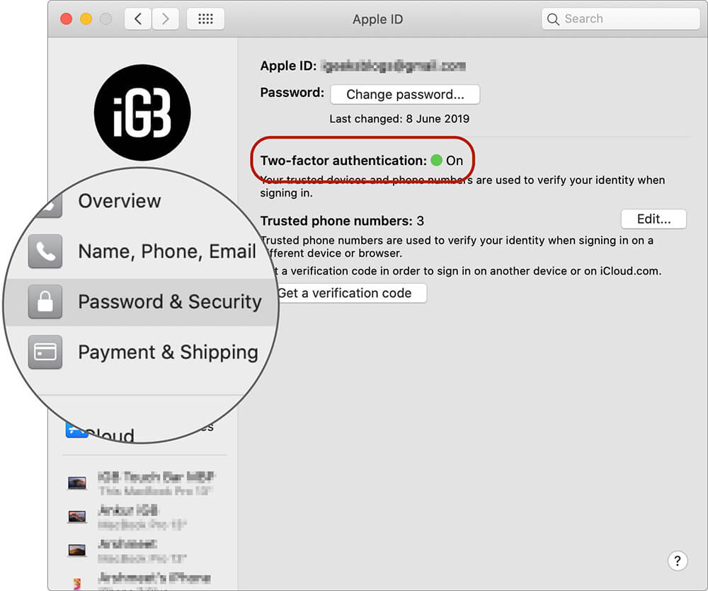 Turn ON Two Two-Factor Authentication on Mac