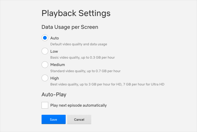 Turn Off Auto-play in Netflix