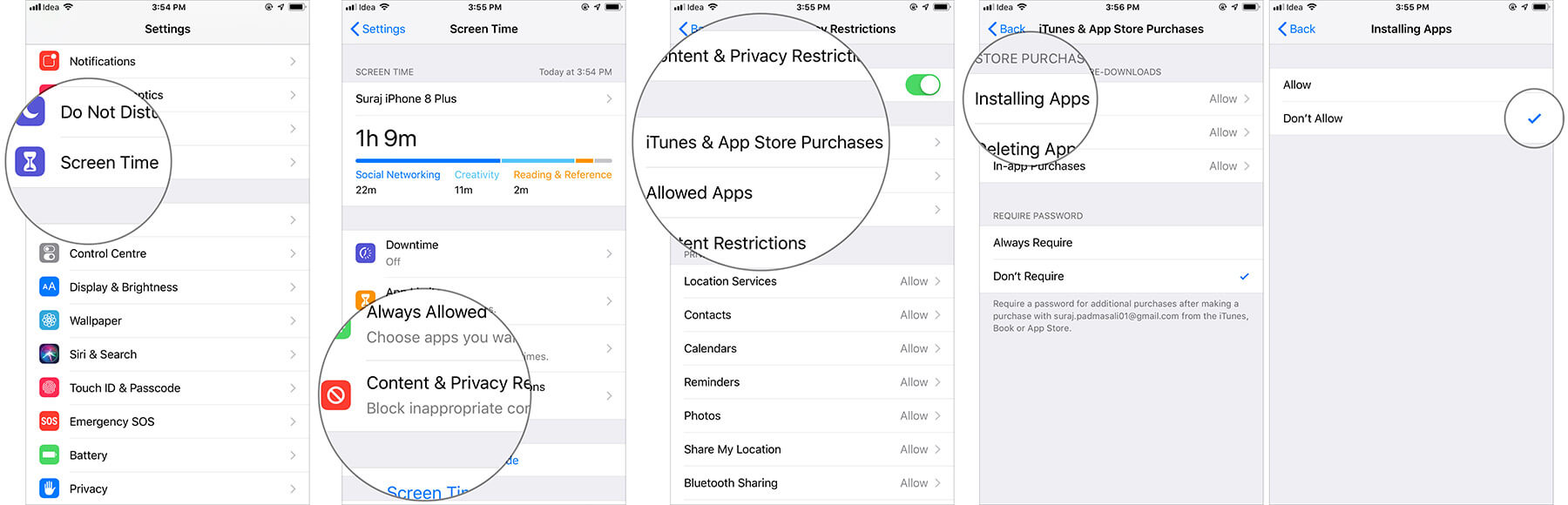 Turn Off Installation of Apps on iPhone and iPad
