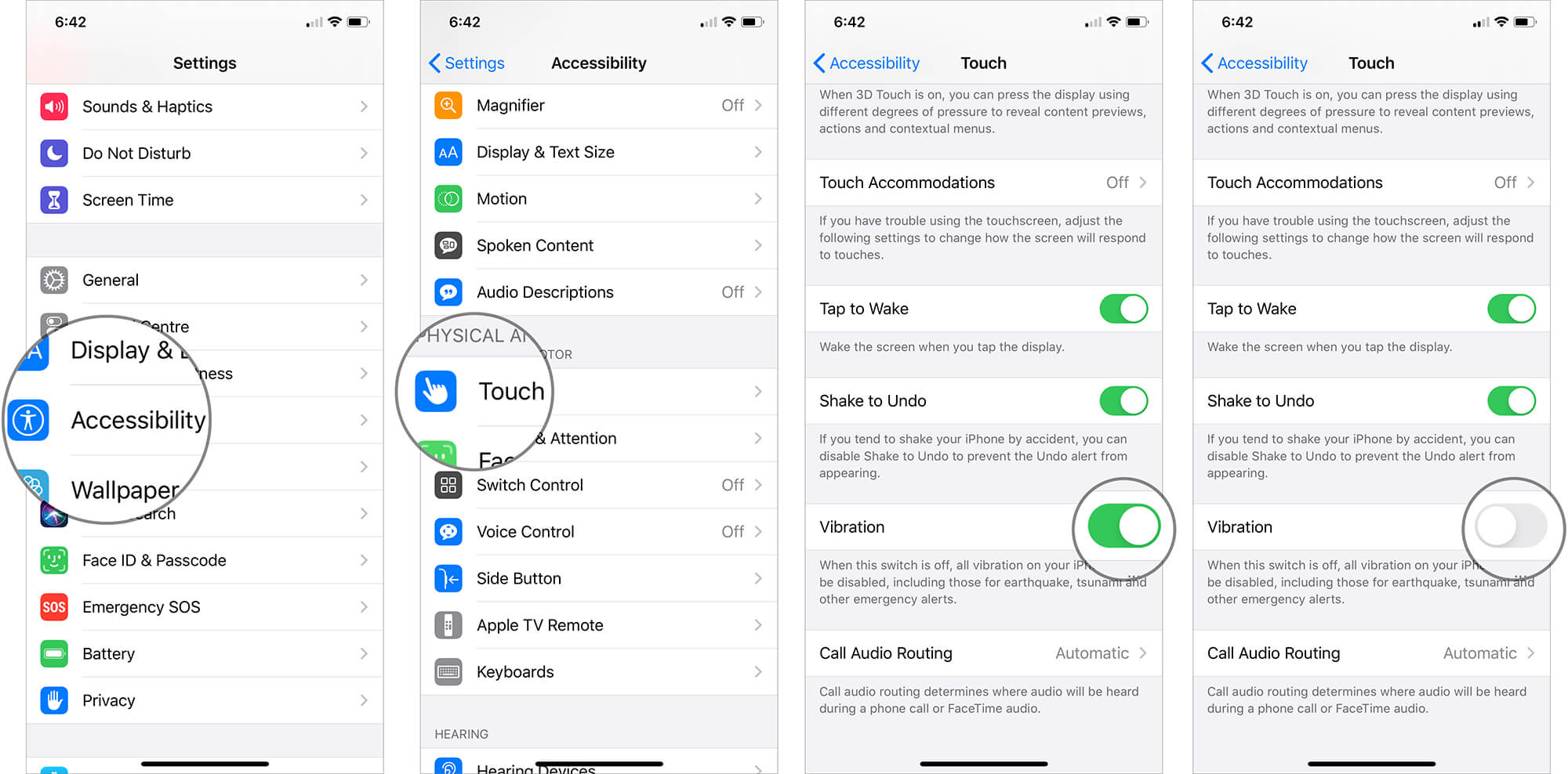 Turn Off Touch Vibration on Your iPhone