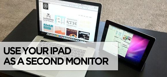 Turn iPad into Monitor