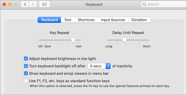 Turn keyboard backlight off to improve battery on M1-based MacBooks