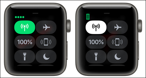 Turn off Cellular on Apple Watch Series 3