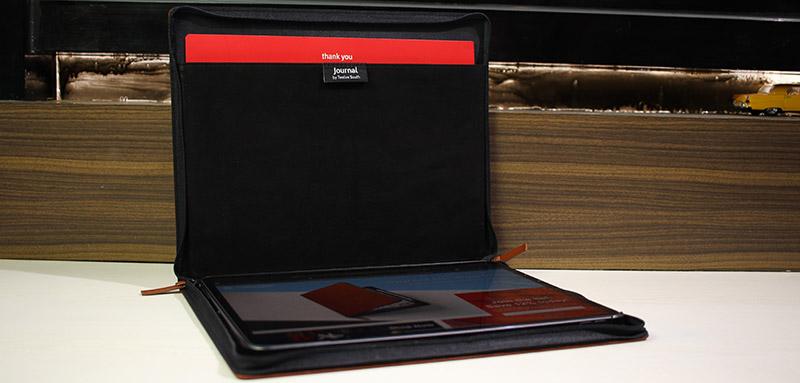 Twelve South Journal iPad Pro Case Storage