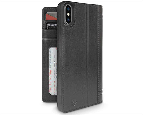 Twelve South Journal iPhone X-Xs Wallet Case