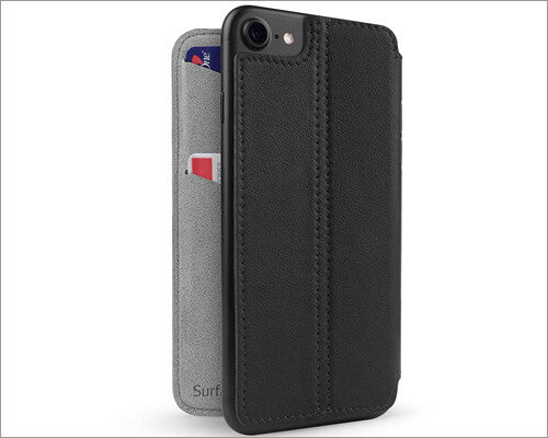 Twelve South Slim Luxury Leather Cover for iPhone 8