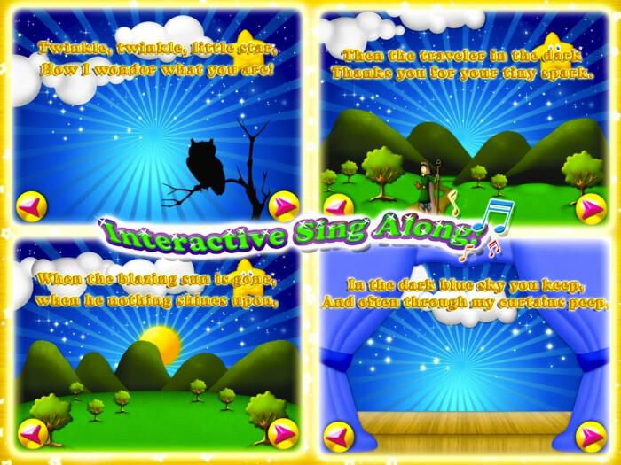 Twinkle, Twinkle Little Star iOS Game Screeshot