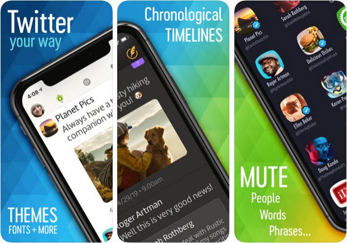 Twitterrific iPhone and iPad App Screenshot