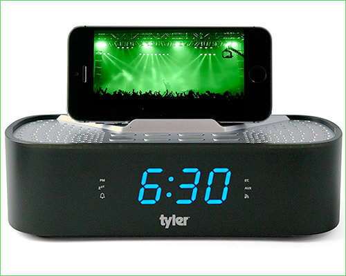Tyler iPhone SE Docking Station with Speakers
