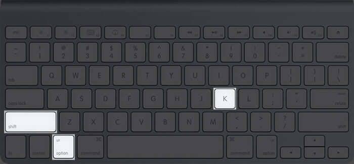 Type Apple Logo on Mac Using Keyboard Shortcut
